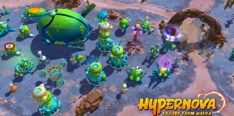 Test – Hypernova: Escape from Hadea – Aufbaustrategie trifft Tower Defense