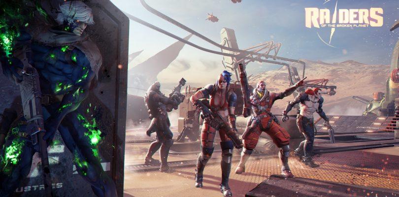 Raiders Of The Broken Planet – Open Beta für 15. und 16. September angekündigt