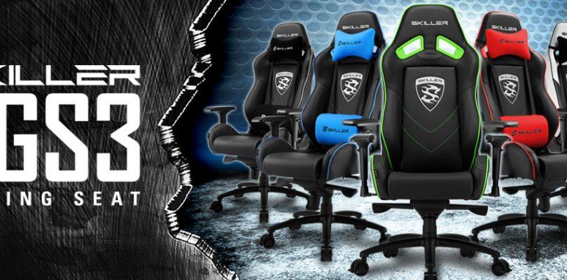 Hier kommt der Gaming Seat Skiller SK3S von Sharkoon