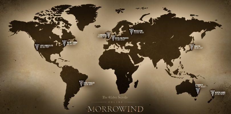 ESO: Morrowind – Hier sind die weltweiten Startzeiten der Server