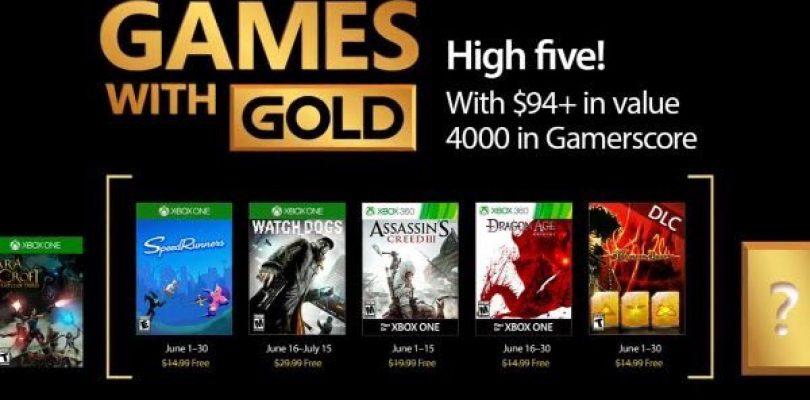 Games With Gold – Das sind die Spiele im Juni 2017