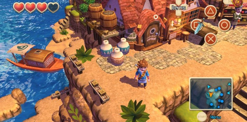 Oceanhorn – Monster of Uncharted Seas startet auf PSVita