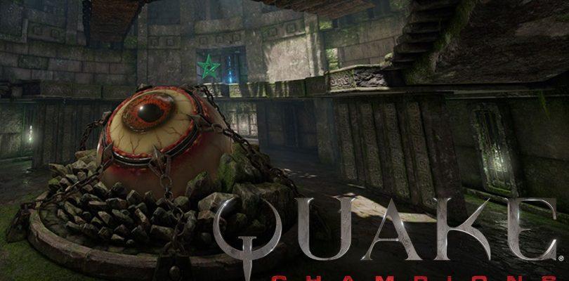 "Quake Champions – Die Arena ""Ruins of Sarnath"" im Video"
