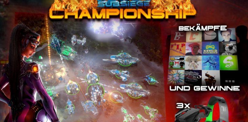 Subsiege – Anmeldung, Preise und Kontaktdaten zum Championship-Turnier