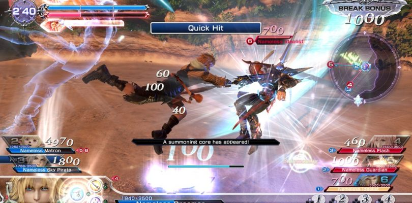 Dissidia Final Fantasy NT – Open Beta startet am 12. Januar
