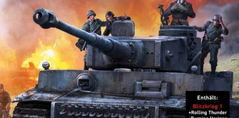 Blitzkrieg Complete Combat-Edition bietet alle Serienteile in einer Retail-Box