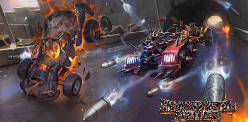 Heavy Metal Machines – Entwicklervideo veröffentlicht, 10.000€-Turnier angekündigt