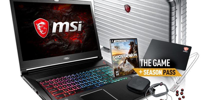 MSI – Bundlepakete für Gaming-Notebooks GS63VR und GS73VR