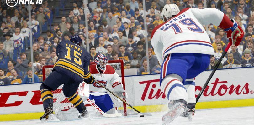 NHL 18 – Gameplay-Video, Beta-Anmeldung und Packshot