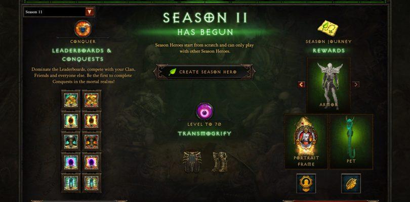 Diablo 3 – Season 11 ist live