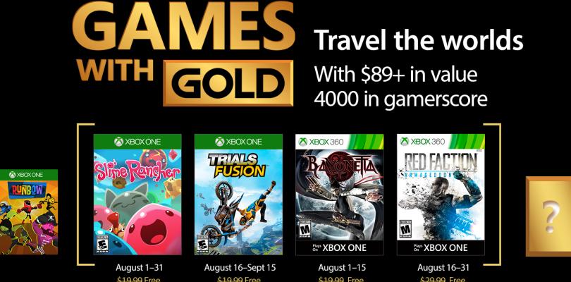 Games with Gold – Das gibt es im August