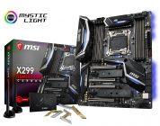 MSI startet mit seinen X299-Mainboards in den Handel
