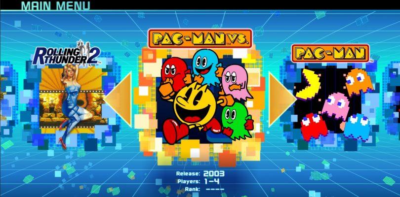 Namco Museum erscheint am 28. Juli für Nintendo Switch