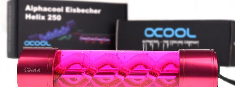 Alphacool Eisbecher Helix gibt eurem Gehäuse den speziellen Touch