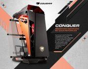 Optisch einzigartig – Das Conquer-Gehäuse von Cougar