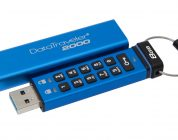 """Verschlüsselter USB-Stick """"DataTraveler 2000"""" mit  4 und 8 GB veröffentlicht"""