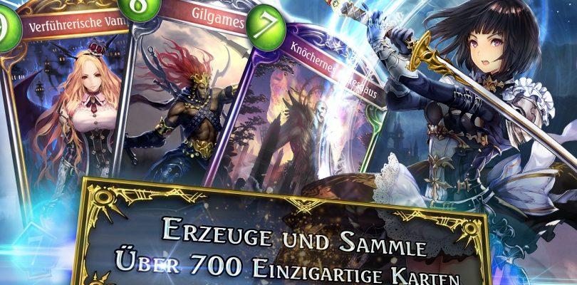 Shadowverse – Sammelkartenspiel nun auch auf Deutsch verfügbar
