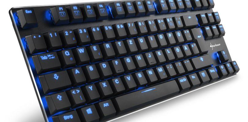 PureWriter TKL – Flach und beleuchtet startet von Sharkoon in den Handel
