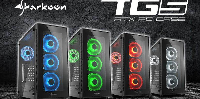 Sharkoon TG5 – PC-Gehäuse mit LED und Glasfront