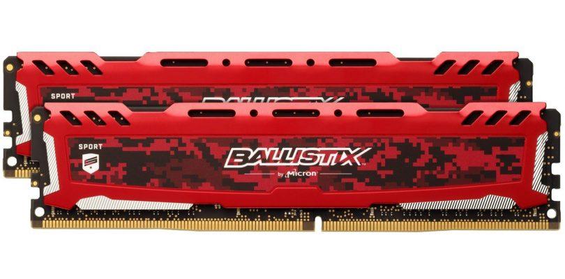 Hardware-Test: Ballistix Sport DDR4-RAM Riegel