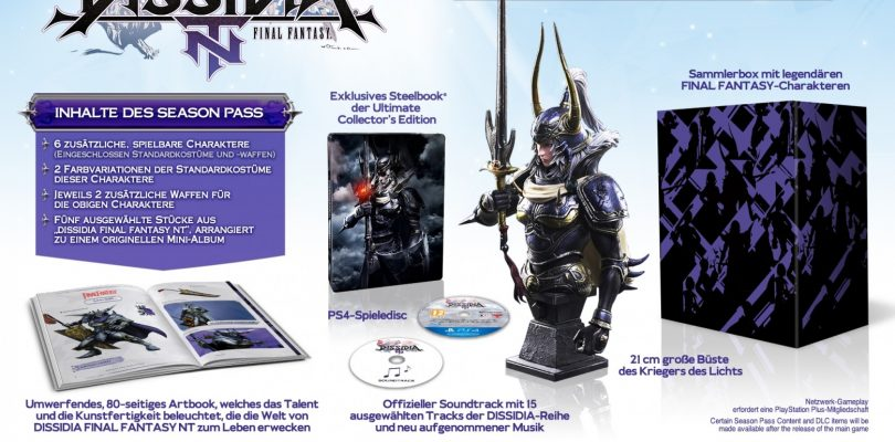 Dissidia Final Fantasy NT – Das steckt in der Ultimate Collectors Edition