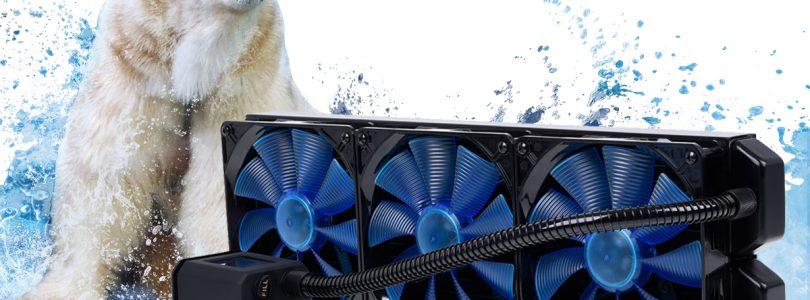 Die größte All in One-Wasserkühlung Eisbaer 420 von Alphacool im Detail