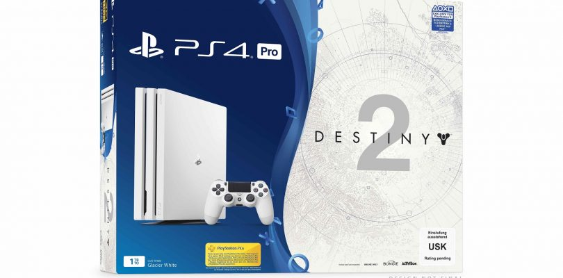 GameStop – Destiny 2 PS4 Pro-Bundle im Glacier White-Look