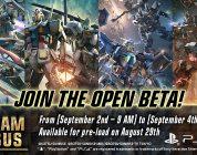Gundam Versus – Open Beta startet am 02. September