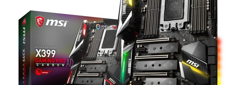 X399 Gaming Pro Carbon AC im Detail