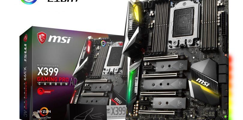 X399 Gaming Pro Carbon AC im Detail