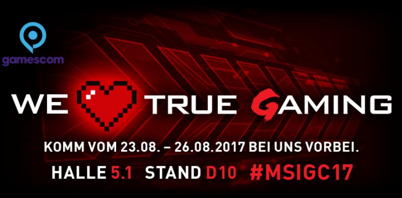 gamescom 2017 – Das bietet der MSI-Stand