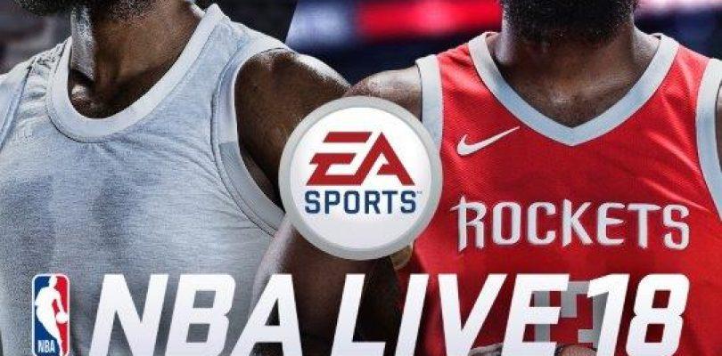 NBA Live 18 – James Harden hat es auf das Cover geschafft