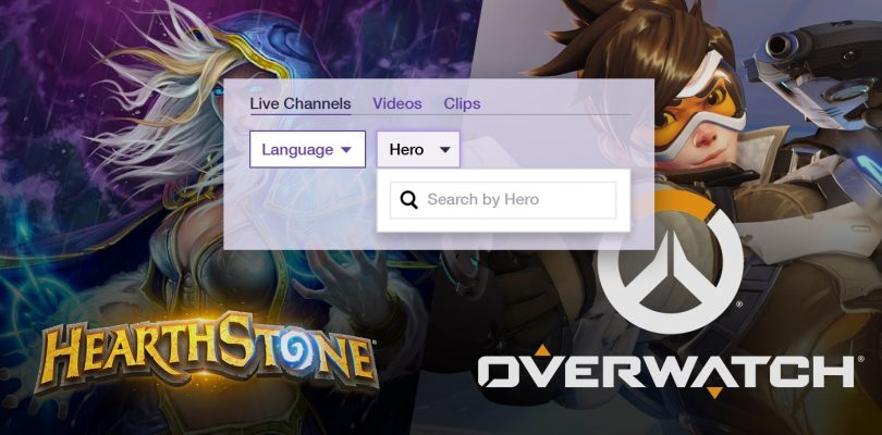Twitch liebt Blizzard – Neue Funktion für Hearthstone und Overwatch
