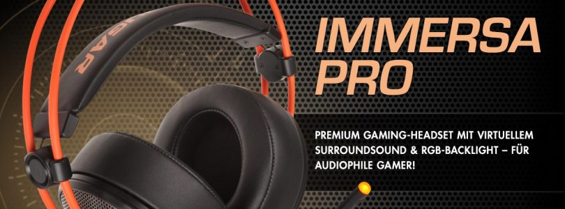 Cougar Immersa Pro – Neues Gaming-Headset ab sofort verfügbar