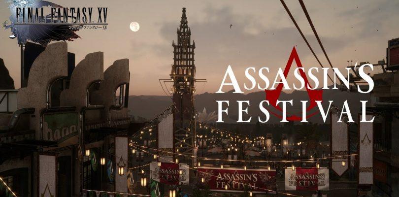 Final Fantasy XV – Event mit Assassin's Creed gestartet
