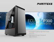 Phanteks Eclipse P300 – Neues, kompaktes PC-Gehäuse startet in den Handel