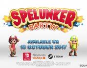 Spelunker Party! erscheint im Oktober für PC und Nintendo Switch