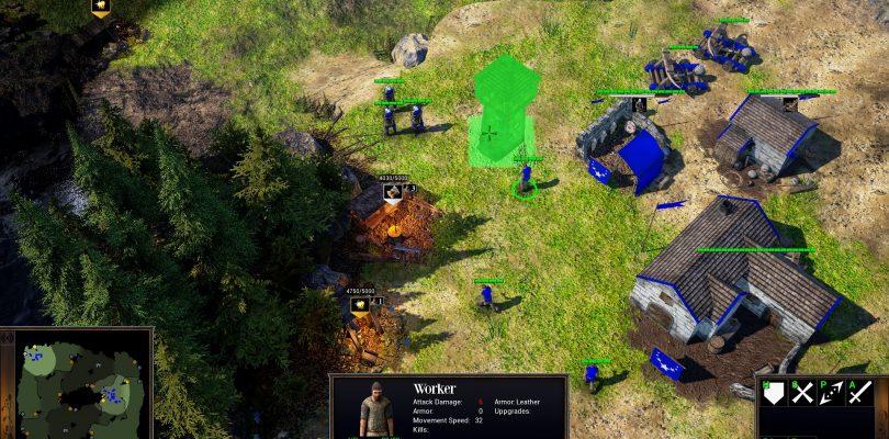 Bannermen – Klassisches Echtzeit-Strategiespiel benötigt eure Hilfe via Kickstarter