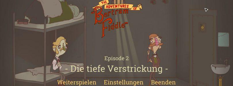 Test: Bertram Fiddle – Point and Click-Adventure mit englischem Humor