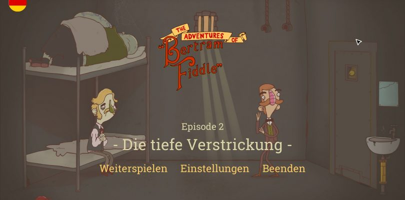 Test: Bertram Fiddle – Point and Click-Adventure mit englischem Humor