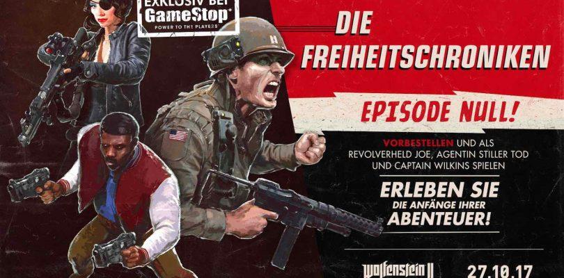 GameStop – Wolfenstein II vorbestellen und exlusives DLC erhalten