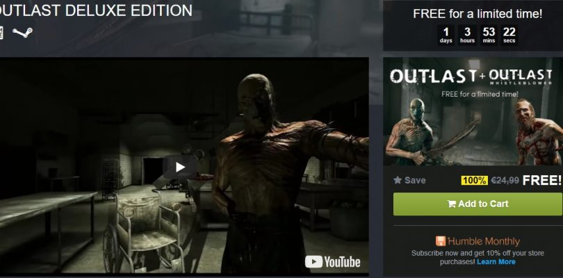 Humble Bundle verschenkt die Outlast Deluxe Edition