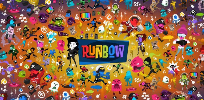 Runbow – Kunterbunter Plattformer kommt auf die PS4