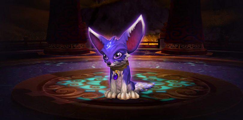 """World of Warcraft – Neues Pet """"Schatten der Fuchs"""" unterstützt die Katastrophenhilfe"""