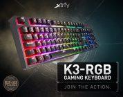 Xtrfy K3 Gaming-Tastatur startet im November via Caseking
