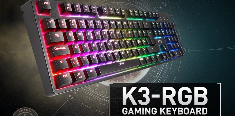 Xtrfy K3 Gaming-Tastatur startet im November via Caseking