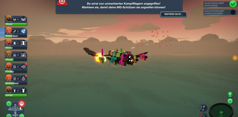 Test: Bomber Crew – Ich bin Bomberpilot, ich bringe euch…