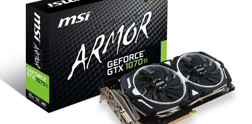 Drei neue GTX 1070 Ti-Modelle von MSI im Detail