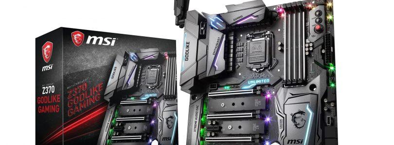 BIOS-Update nun auch für die Z370-Mainboards von MSI