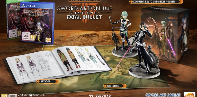 Sword Art Online: Fatal Bullet – Release bekannt, Collectors Edition enthüllt